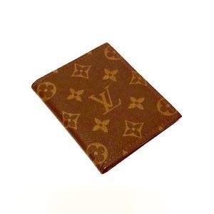 Authentic Vuitton Vintage Monogram Card Holder
